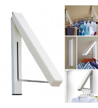 Portable Waterproof Invisible Folding Wall Clothes Hanger Drying Rack