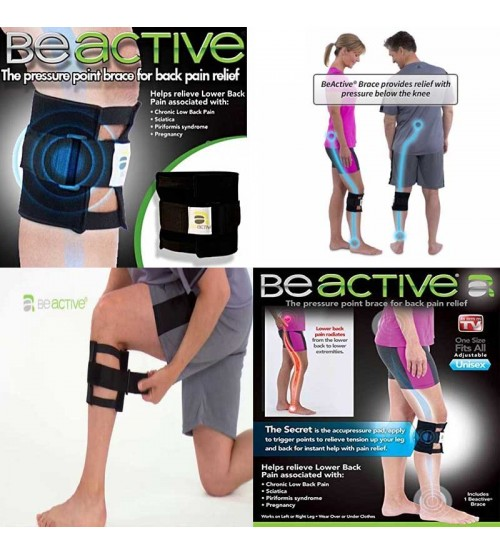 9a44193dd8 Be Active Knee Brace Support Belt