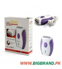 Gemei Brown Rechargeable Lady Shaver BR-3017