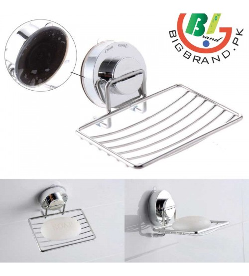 Chrome Strong Suction Soap Dish