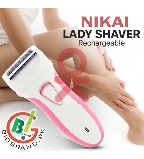 Nikai Rechargeable Lady Shaver NK-7622