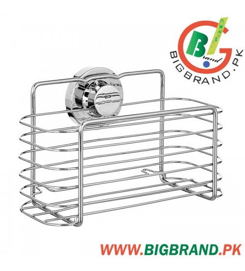 Lock N Roll Rectangular Suction Shower Basket
