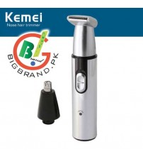 Kemei KM-9688 Rechargeable Nose and Ear Trimmer