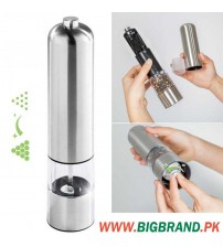 Stainless Steel Electric Salt Pepper Mill Grinder
