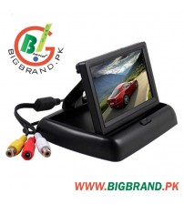 4.3 Inch Stand Security TFT Monitor car Rear View Camera