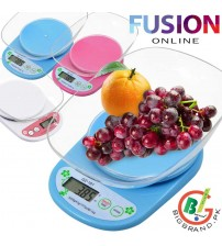 5KG Digital Kitchen Scale with Bowl