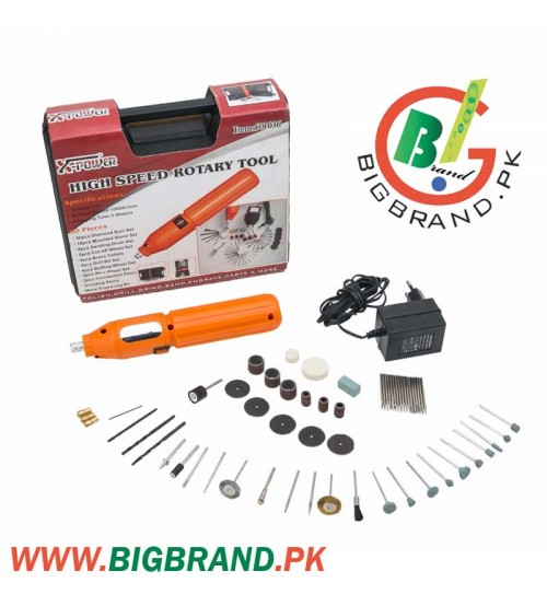 Cordless Mini Electrical Drill with 60 Pcs Set