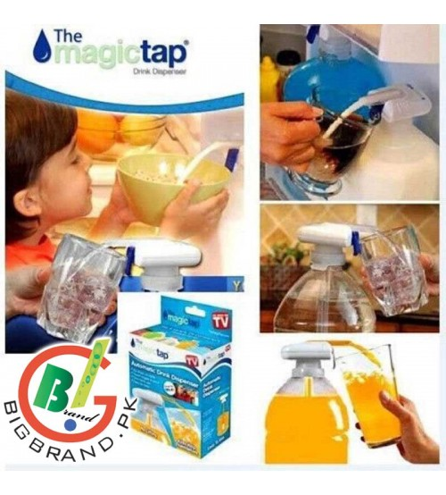Magic Tap Electric Automatic Water and Drink Beverage Dispenser