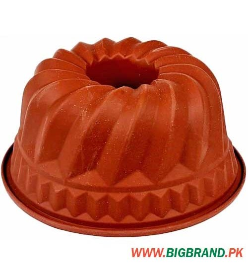 Silicone Mould Cake Tin - Brown