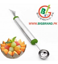 Stainless steel Multi Use Fruit Carving Knives and Ice Cream Scooper