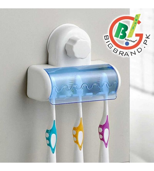 Tooth Brush Holder with Suction Cup