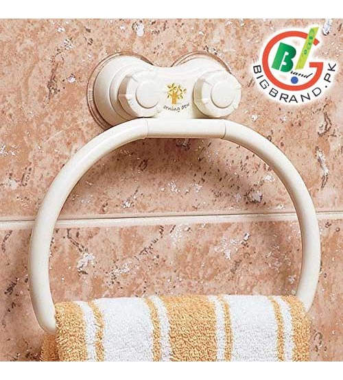 Suction Wall Attachable Hanger for Shower Towel