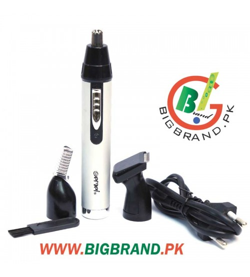 Gemei Rechargeable 3in1 Nose and Ear Hair Trimmer GM-3107
