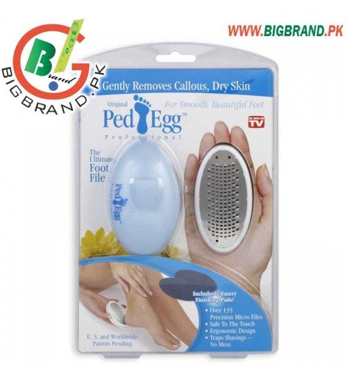 PedEgg Professional Pedicure Foot File with Emery Boards