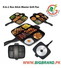 5in1 Non Stick Die Cast Master Grill Pan