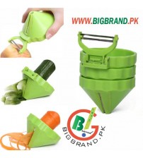 4in1 Multifunctional Cooking Device Spiral Slicer Cutters