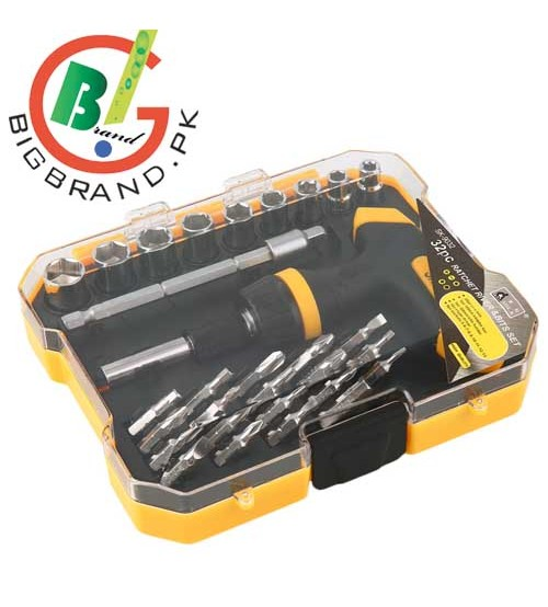 32 Pcs Professional Repair Opening Tool Ratchet Screwdriver Set
