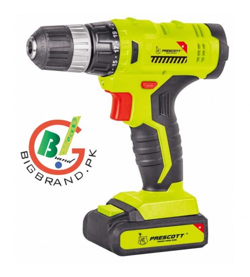 Prescott High Quality 16V Li-Ion Screwdriver and Cordless Drill