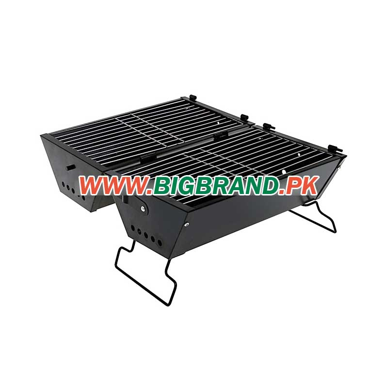 double sided foldable barbecue grill. Black Bedroom Furniture Sets. Home Design Ideas