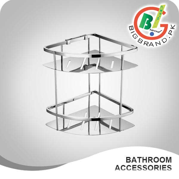 Bathroom Accessories In Pakistan wesda 2 layer stainless steel bathroom corner shower shelf